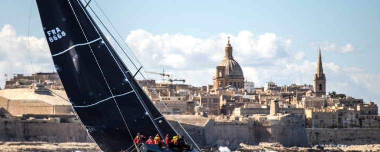 Malta Leads the Way in the 40th Rolex Middle Sea Race.